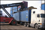 Container leasing and sale. Delivery of containers and equipment.